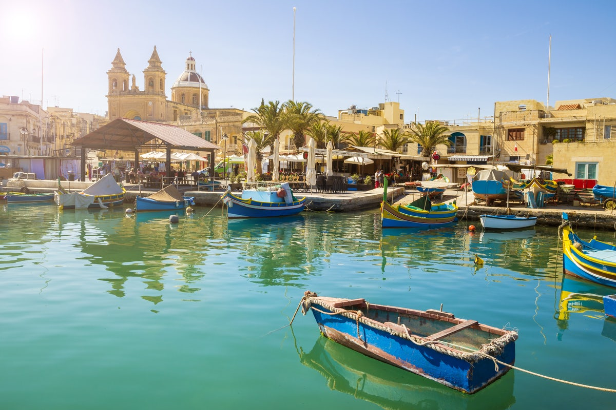 Beautiful towns and villages in Malta