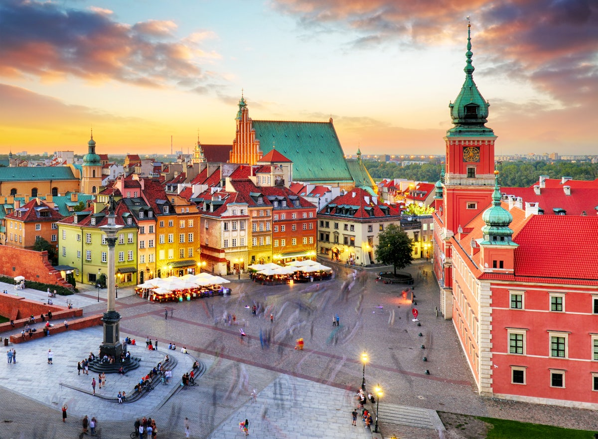 Beautiful towns and villages in Poland