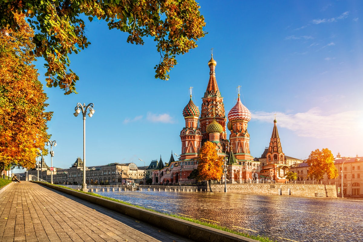 The best relaxing spots in Russia