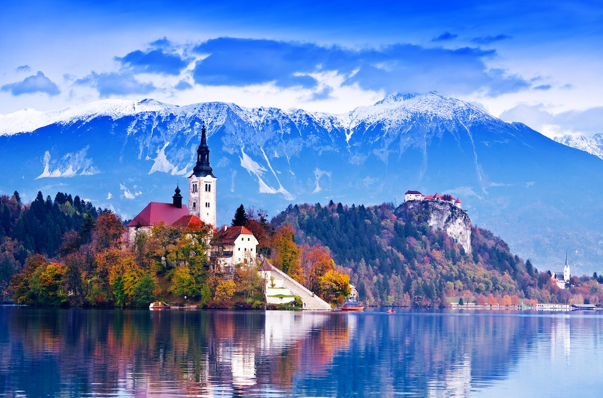 Beautiful towns and villages in Slovenia