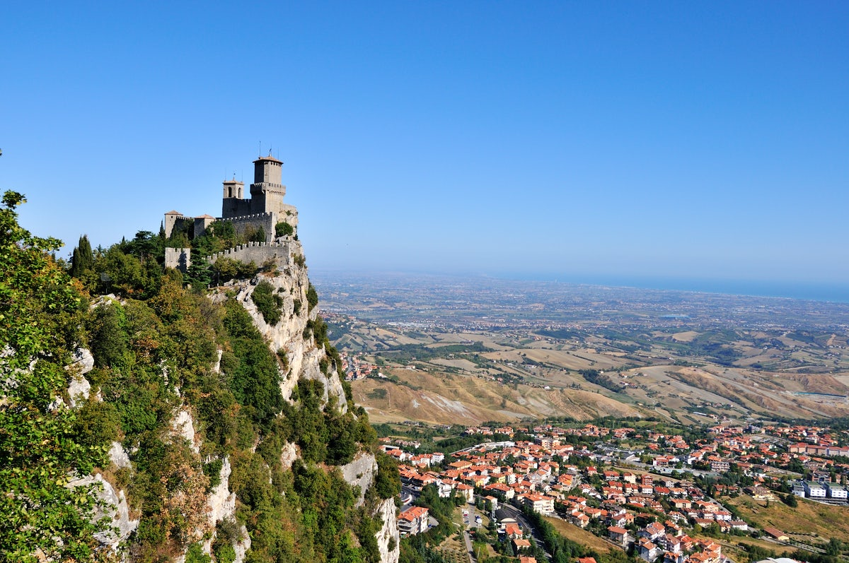 Nature and outdoor activities in San Marino