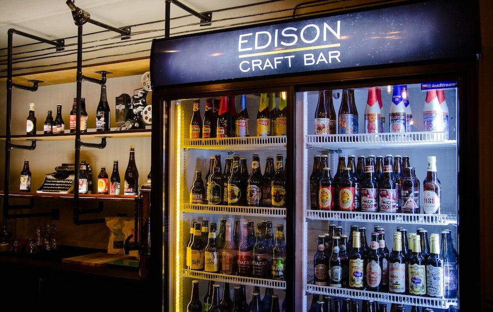 Photo © Credits to Edison Craft Bar
