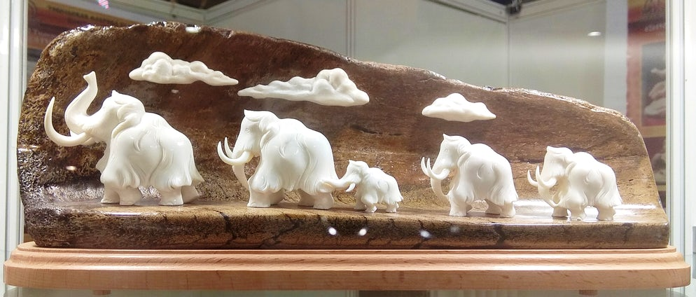 Tobolsk bone carving