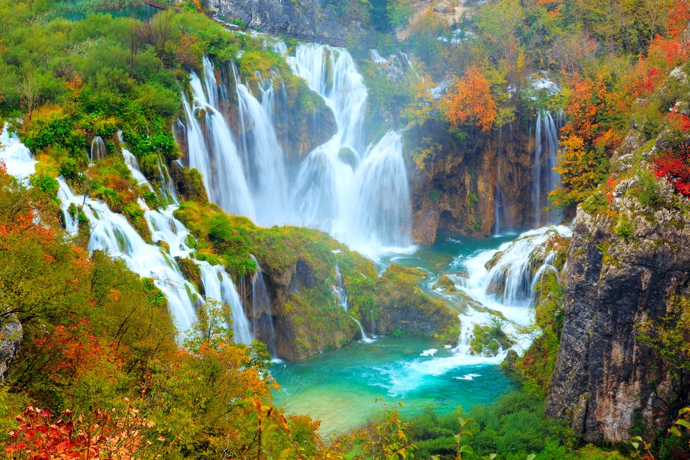 Plitvice; Photo © credits to iStockphoto/Remedios