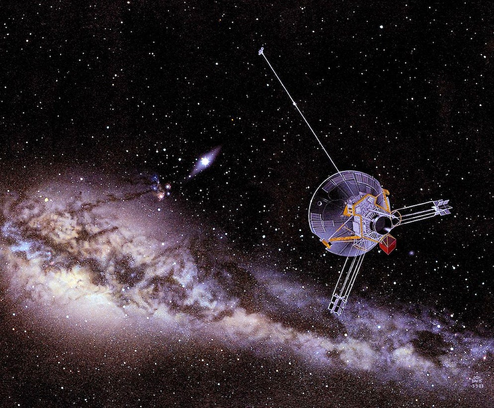Illustration of satellite being sent to space © Credits to NASA Ames