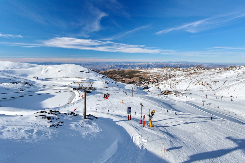 Sierra Nevada Un Paradis De Neige Dans Le Sud De L Espagne