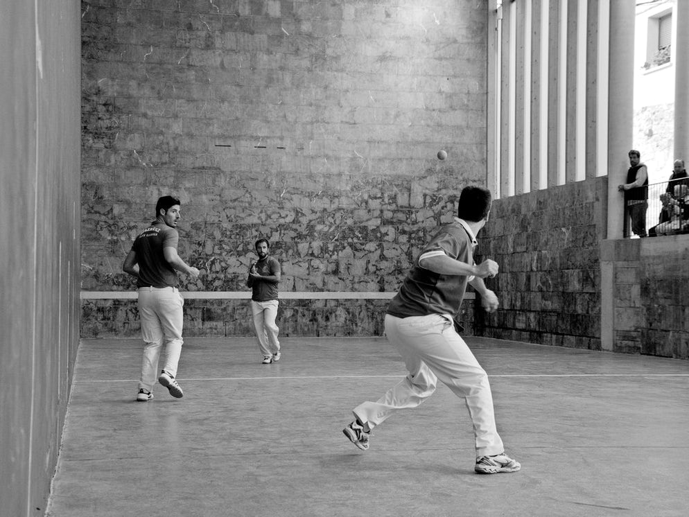 © Alberto Cabello Mayero (A game of 'hand pelota', perhaps the toughest form of Basque Pelota, in Spain's Basque Country)