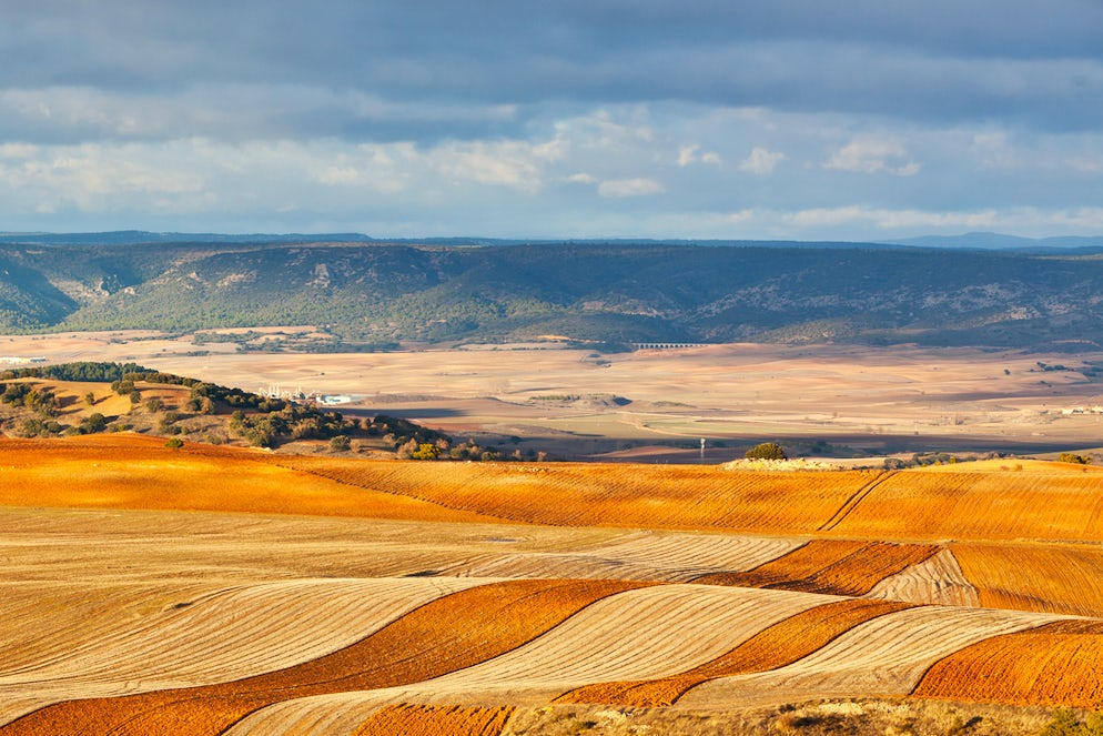 Autumn in the countryside of Spain - photo credit @ dvoevnore