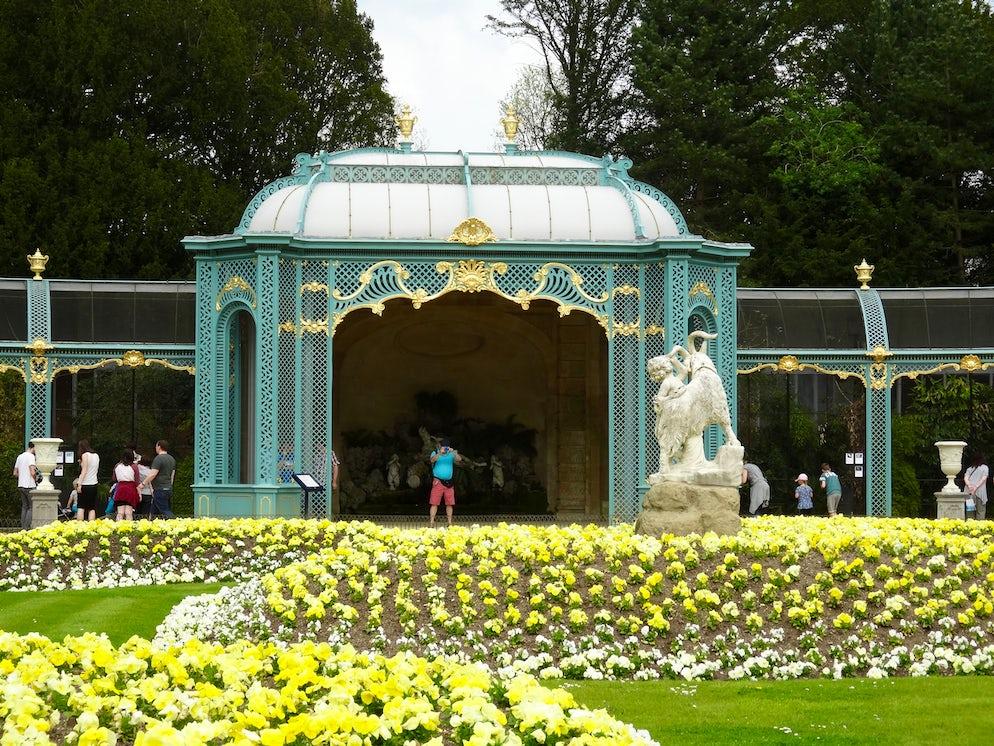 In the garden of Waddesdon Manor | Credits: Vy Dan Tran