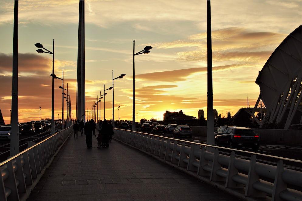 As the sun goes down - photo credit @ Joe Thorpe