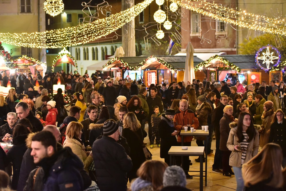 Advent iz Zadar; Photo © credits: Zadar Tourist Board