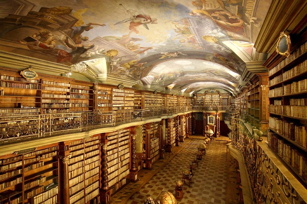 © Klementinum library