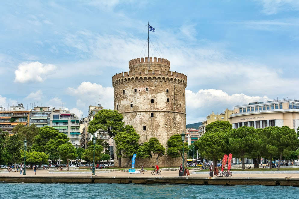The city's landmark; the White Tower, picture © Credits to iStock/ nedomacki