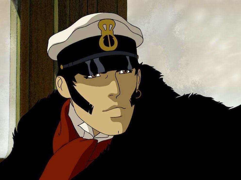 Corto Maltese animated series, Studio Ellipse Animation, France/Italy (2004)