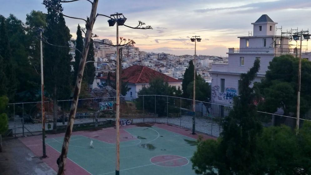 Strefi Hill playground (photo credits @ author)