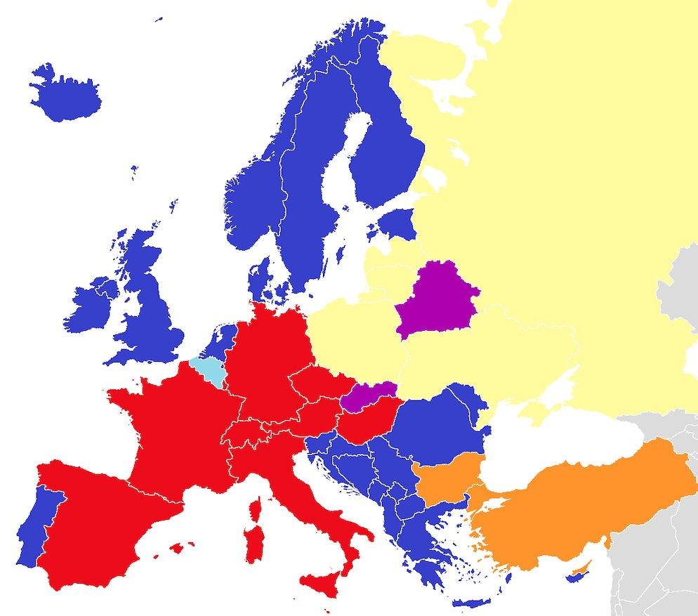 Dubbing Films in Europe: Picture © Credits to Wikipedia / Häsk (talk)