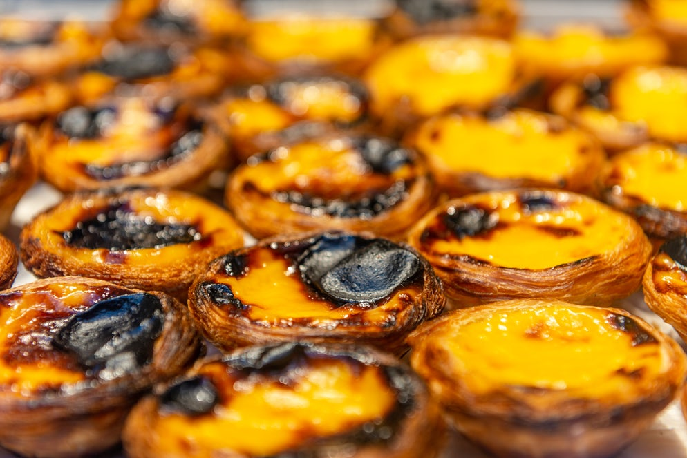 Pastéis de Nata, a real portuguese tradition.