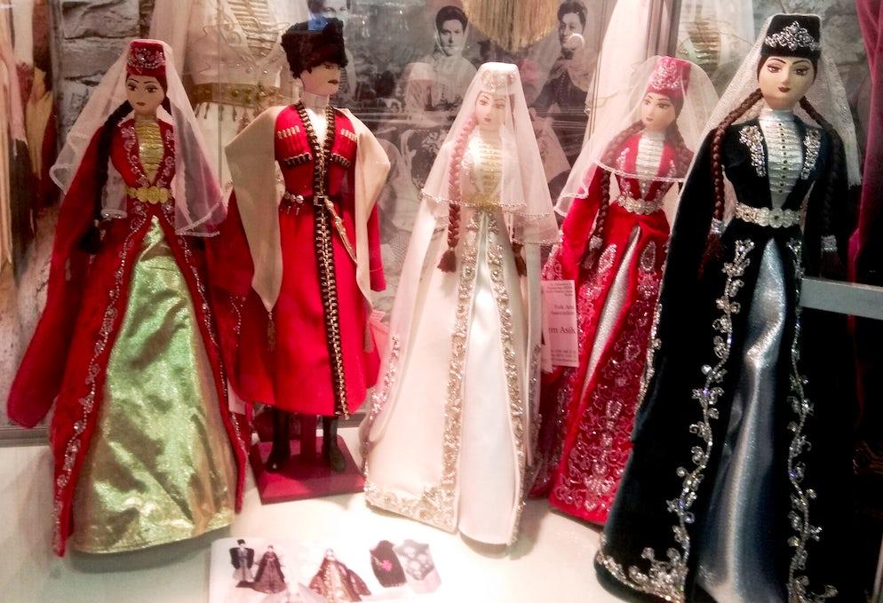 Dagestan folk costumes