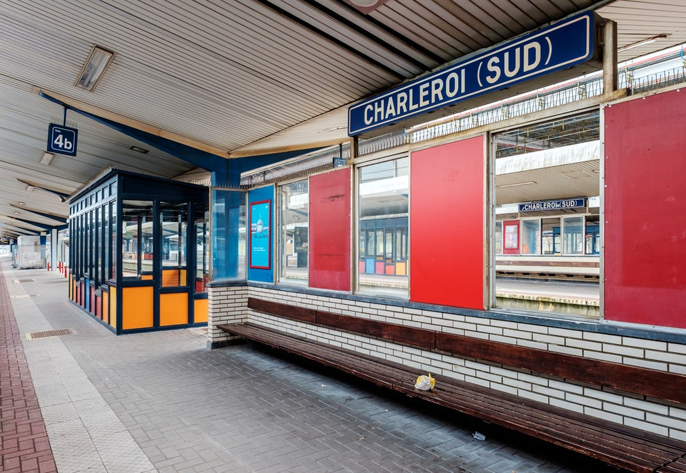 Train station of Charleroi-Sud © To iStock/Erik_V
