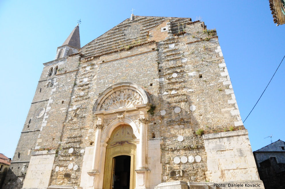 Duomo San Servolo, Buje; Photo © credits: Picchio4ever, Daniele Kovacic