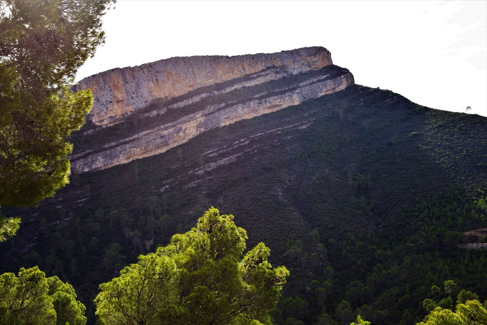 Extreme and green landscapes in Chulilla