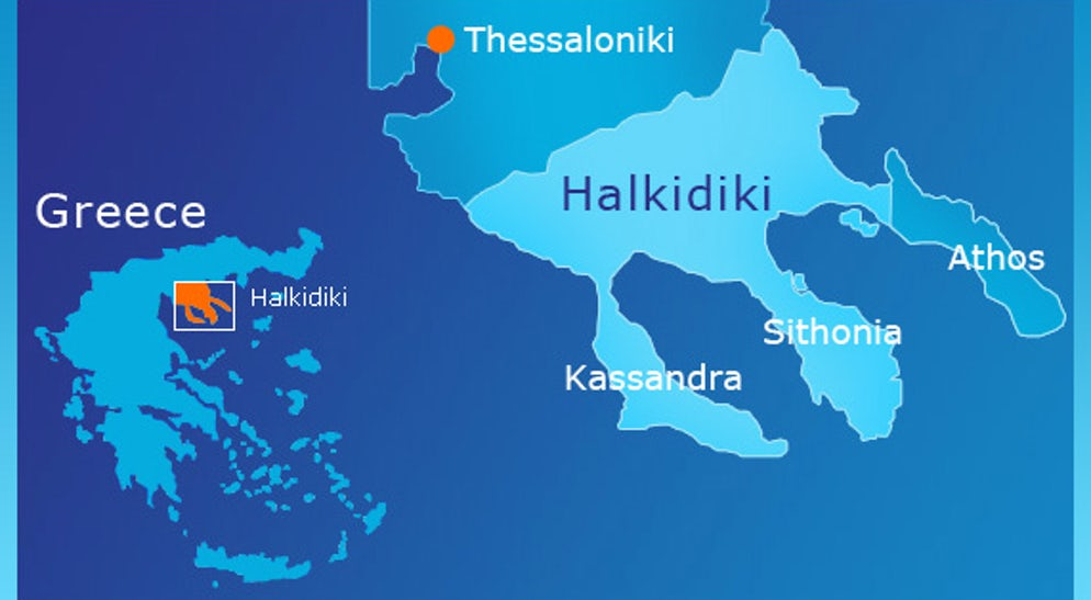 Your 3-day itinerary; Halkidiki (part 1)