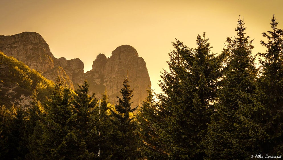 Scenery at Mt. Stara Planina © Credits to Facebook/Milan Simonovic