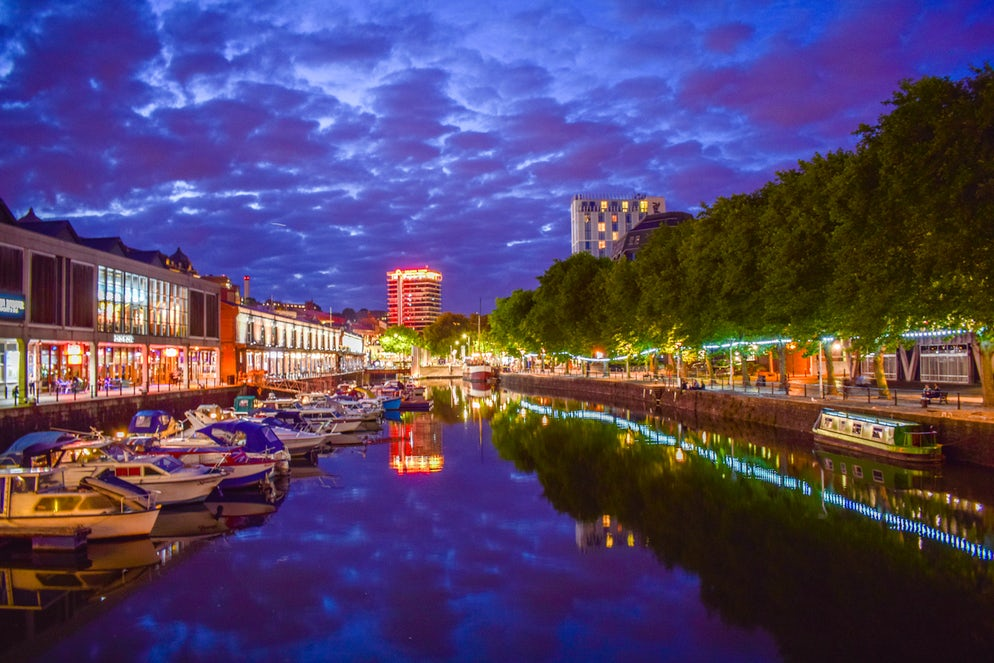 The Waterfront in Bristol - Picture © Credits to iStock/TheBristolNomad