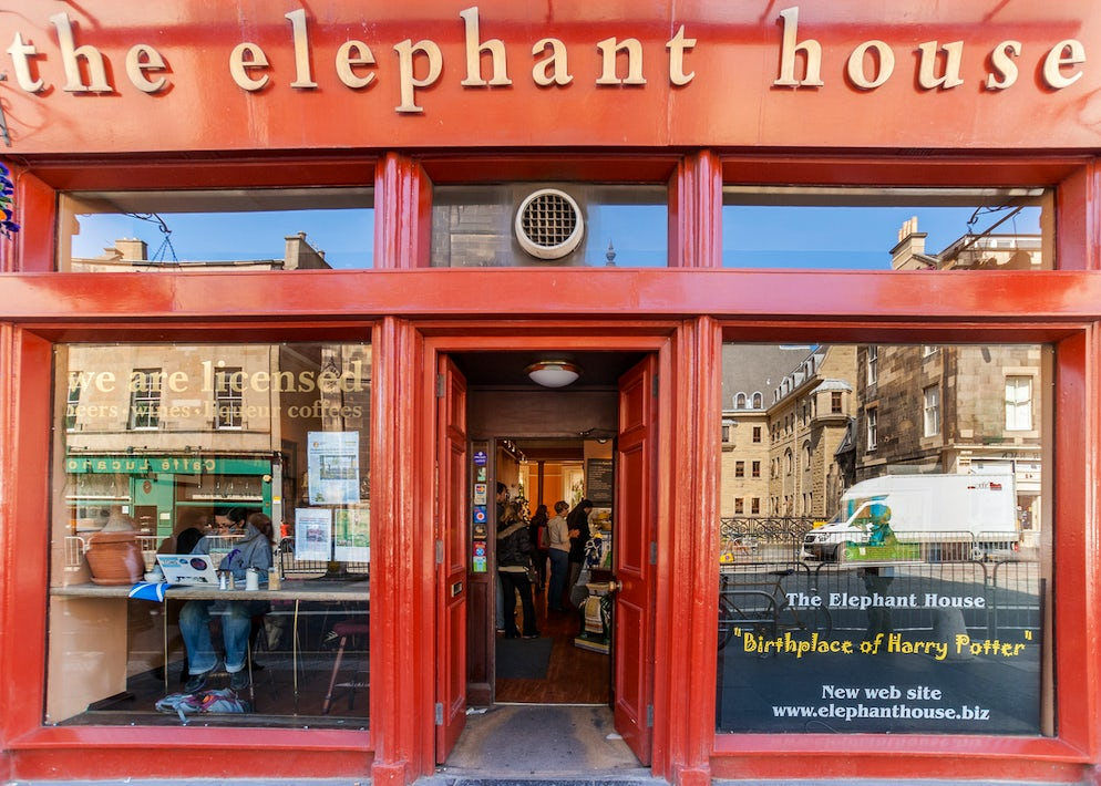 The Elephant House - Picture Credits to ClaudineVM