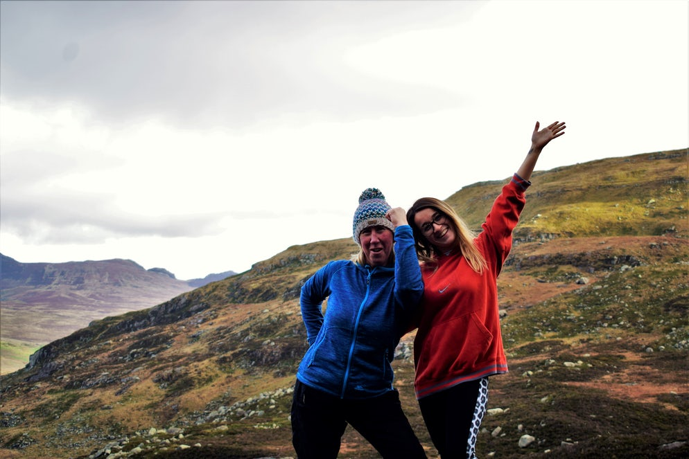 Mount Tryfan (family walking) - Picture @ Credits to Joe Thorpe