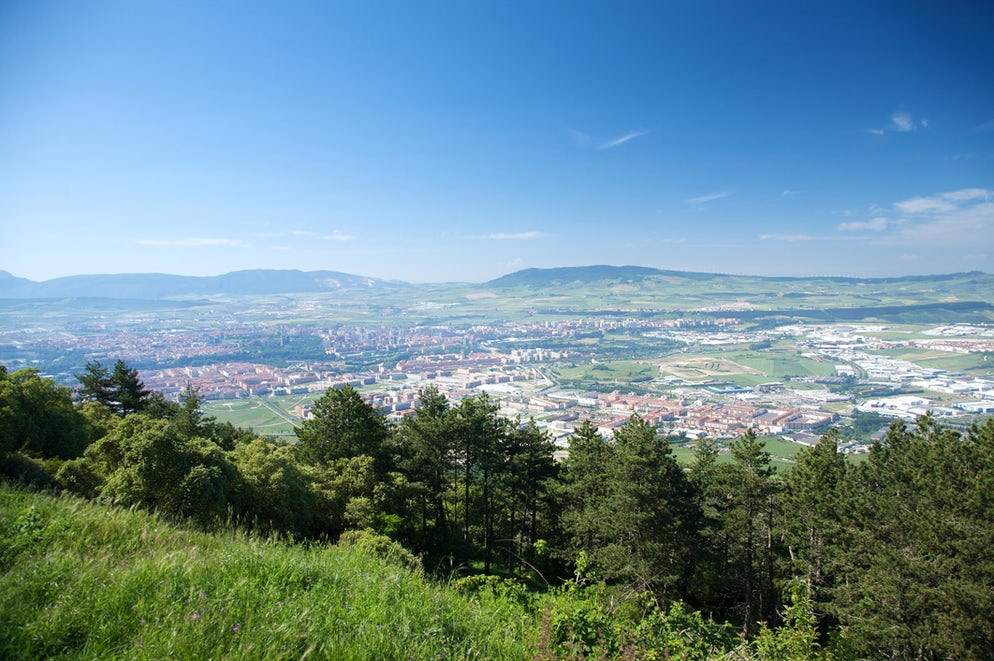 © quintanilla (View of Pamplona from the top of the mountain)