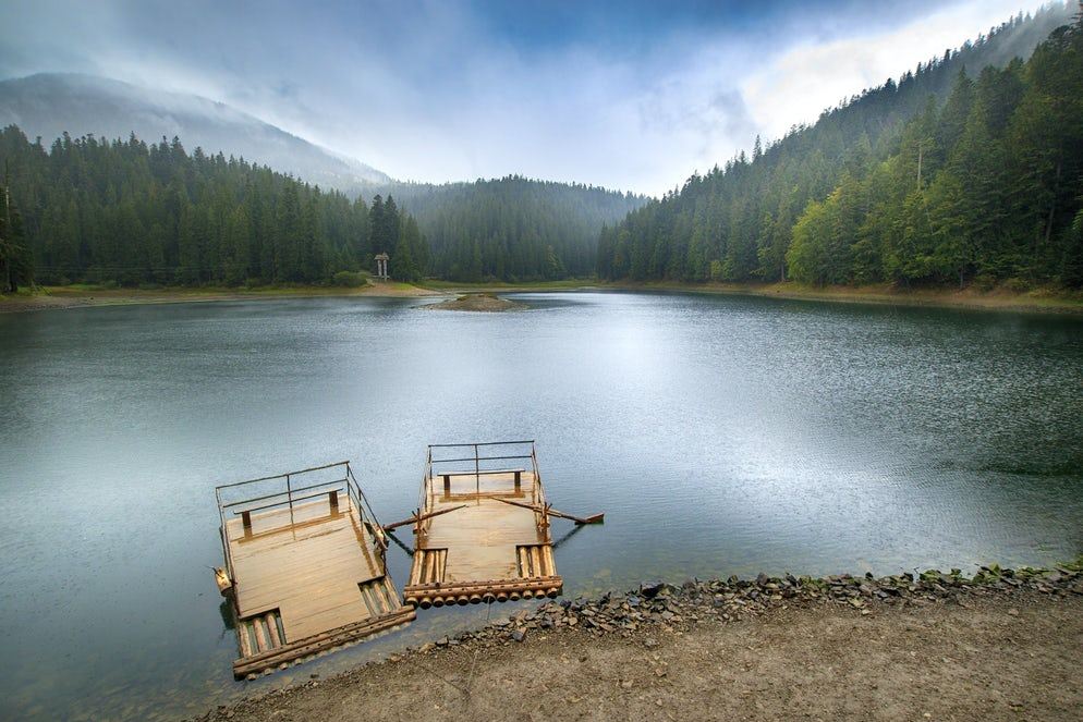Legends of the Sea Eye: Lake Synevyr in the Carpathians
