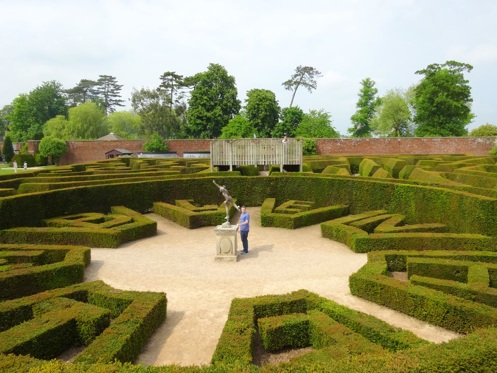 The center of the Marlborough Maze | Picture credits to © Tran Dan Vy