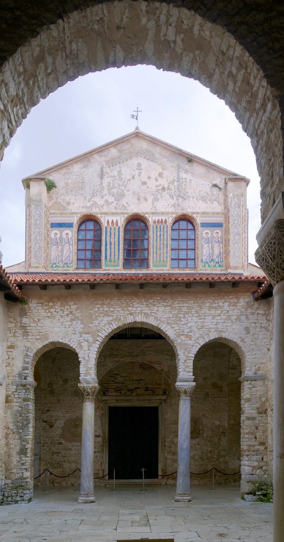 Euphrasian Basilica; Photo © credits: Berthold Werner