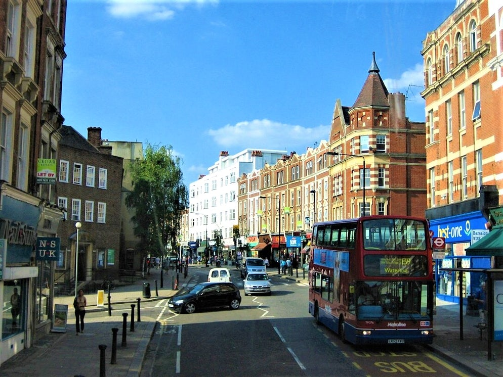 Picture Credit: © Glenn h/Creative Commons (West End Lane in view of West Hampstead Library on the left)