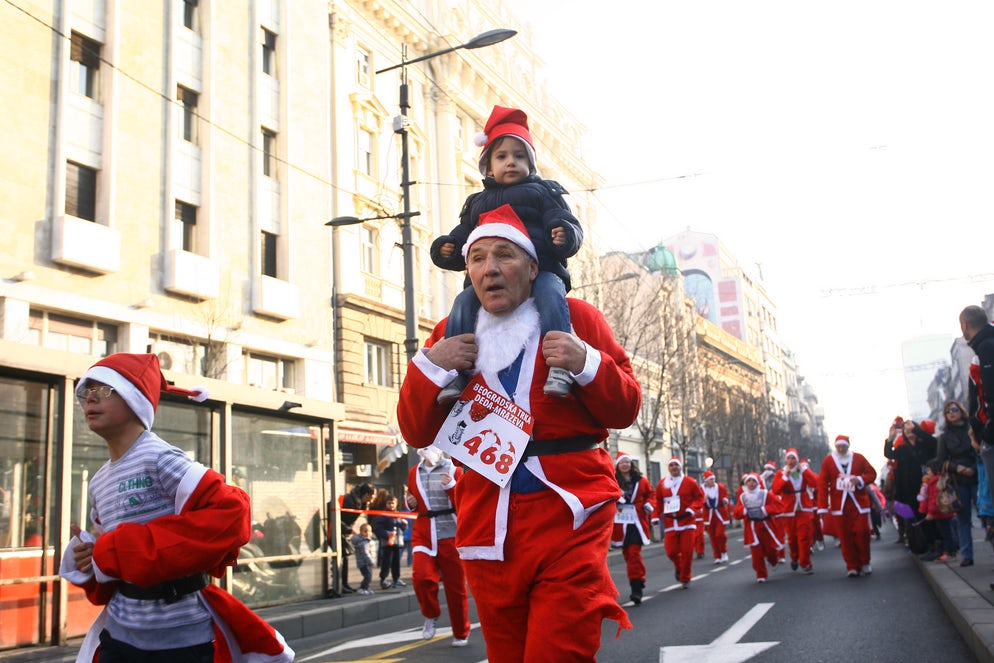 Santa Claus Race in Belgrade © Credits to nemar74