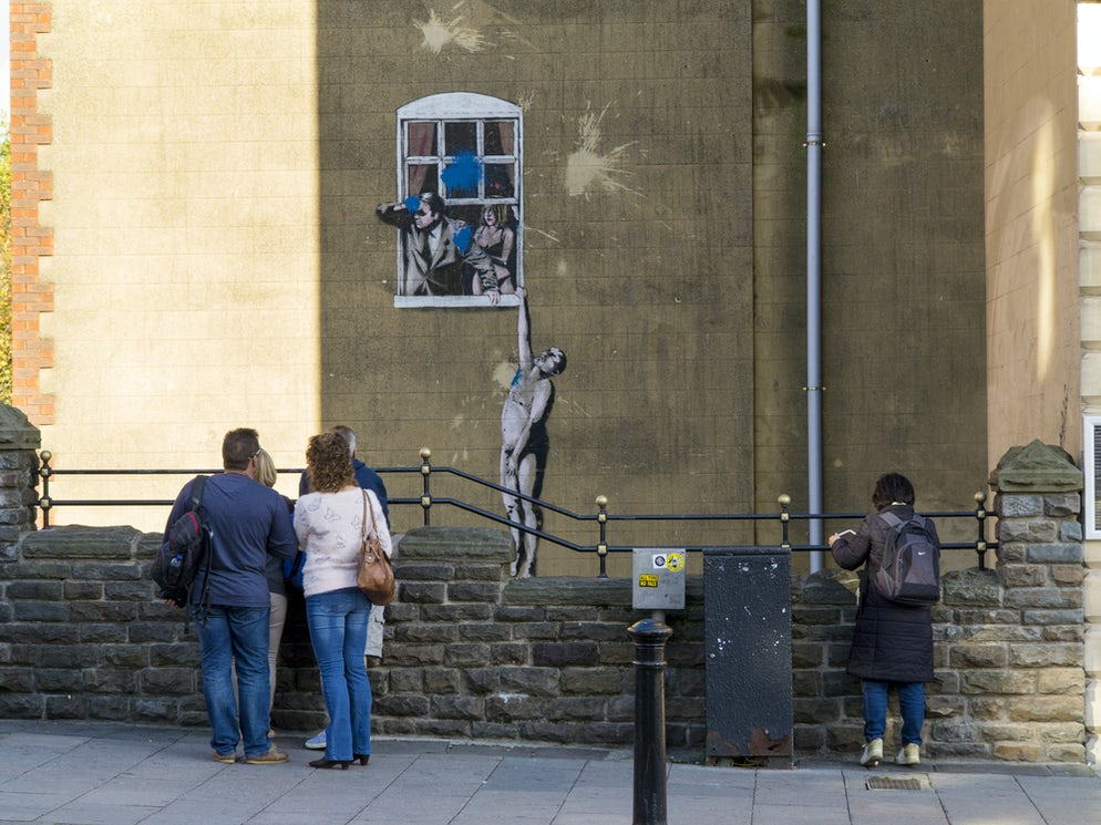 Banksy's artwork in Bristol ©To iStock/scottyh
