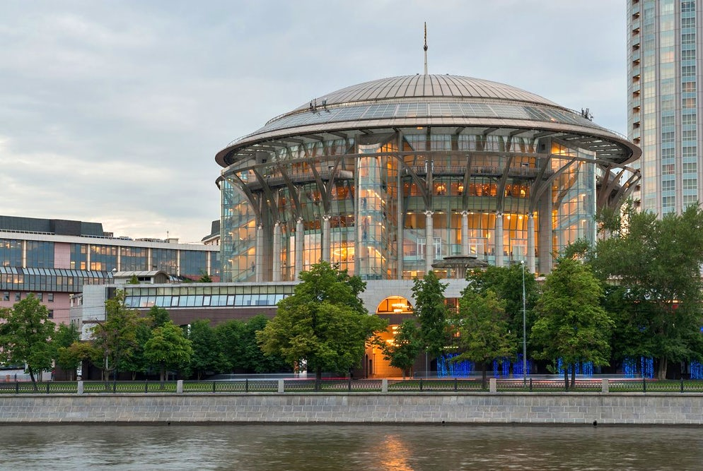 Photo © credits to Irina Tokareva. Moscow International Performing Arts Centre