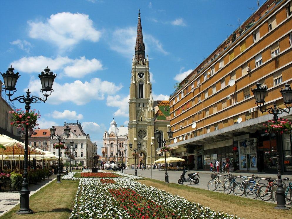 Modena St. in Novi Sad © Credits to vladacanon