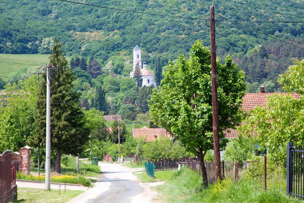 Typical street view in Vrdnik © Credits to Banja Vrdnik / Termal