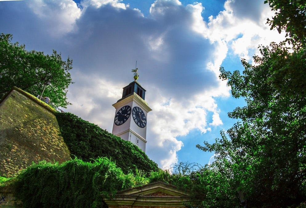 The Clock Tower at Petrovaradin Fortress  © Credits to BalkansCat