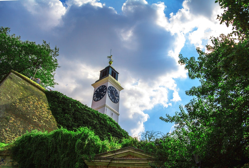 The Clock Tower at Petrovaradin Fortress  © Credits to BalkansCat