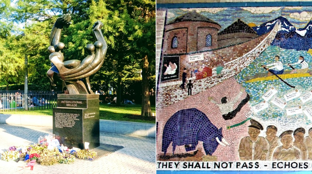 © Adam L. Maloney (The International Brigade Monument and 'Echoes of Spain')
