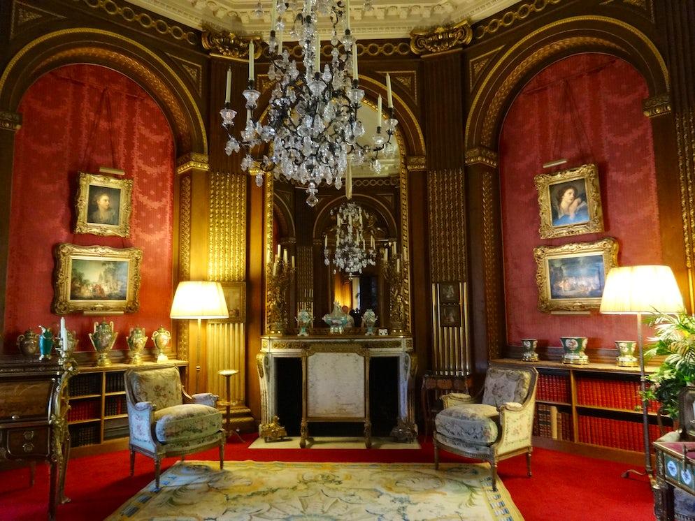 The interior of Waddesdon Manor   Credits: Vy Dan Tran