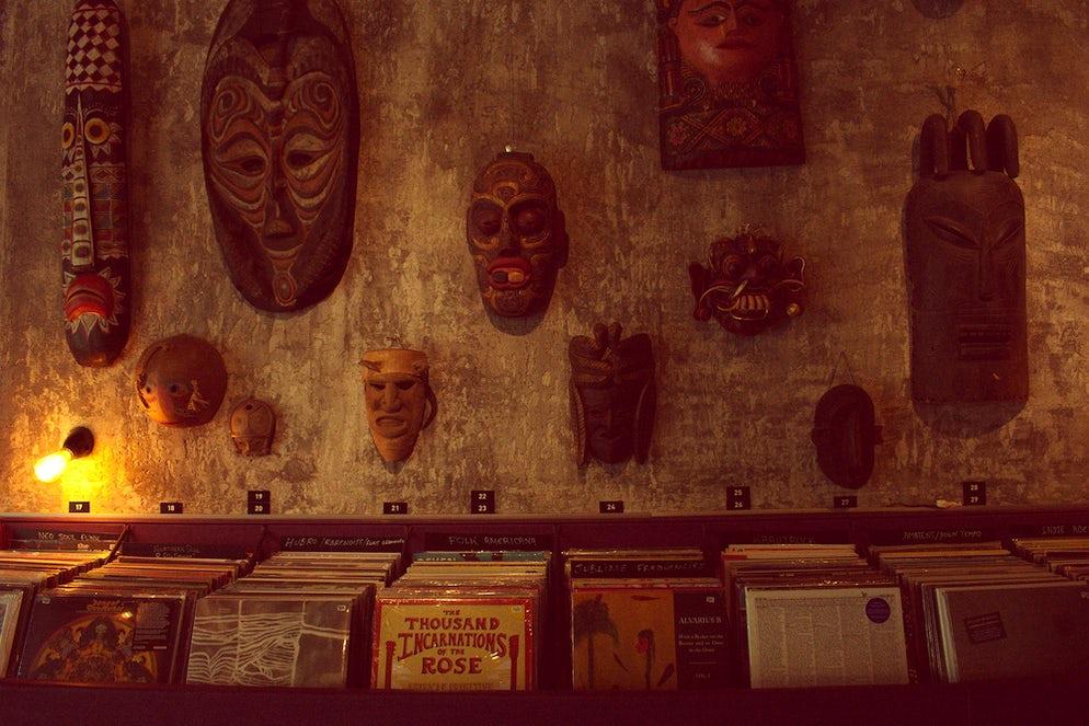 Underflow- Record Store & Art Gallery (photo credits @ author)