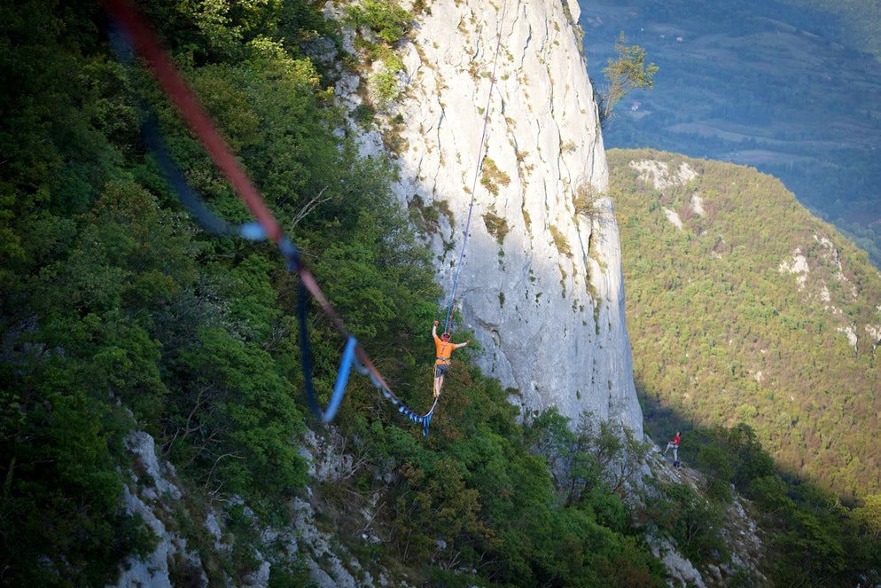 Picture © credits to Drill & Chill Climbing and Highlining Festival