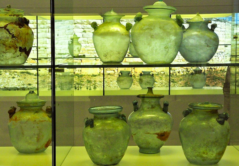 Museum of Ancient Glass in Zadar; Photo © credits: LBM1948