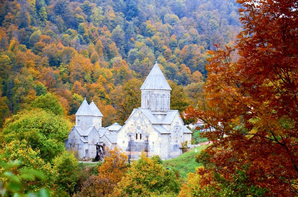 Haghartsin, le monastère de l'Aigle Volant