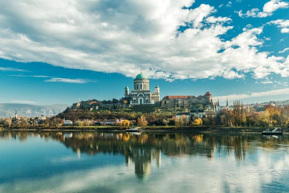 The breathtaking appearance of the Cathedral of Esztergom © Unknown source from internet