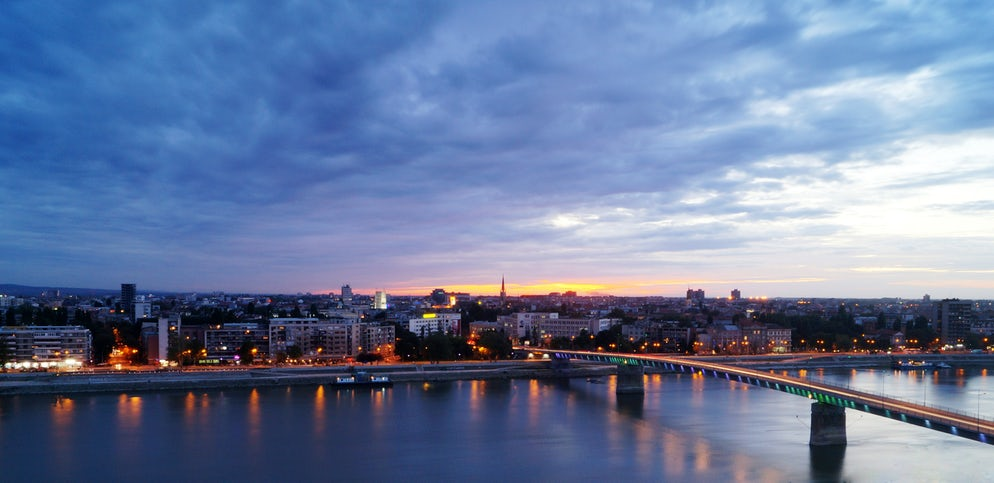 View from Petrovaradin Fortress  © Credits to  Lovemyphotos